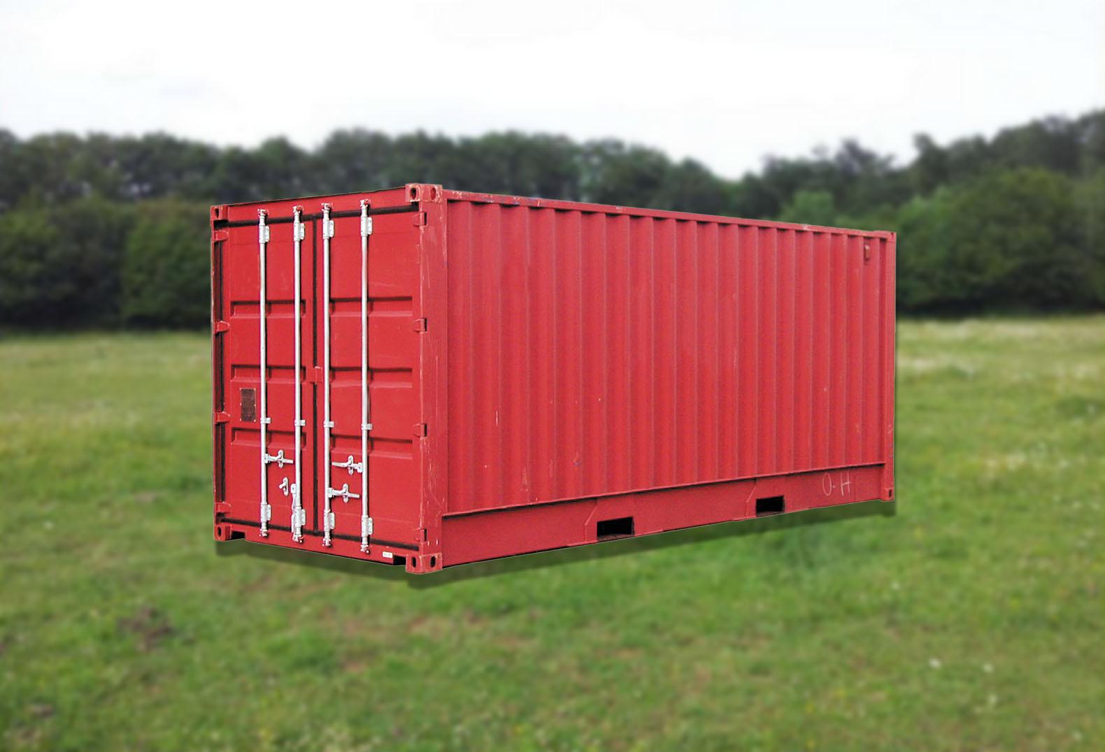Aménager vos terrains nus avec des containers